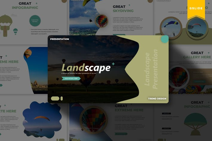 Thumbnail for Landscape | Google Slides Template