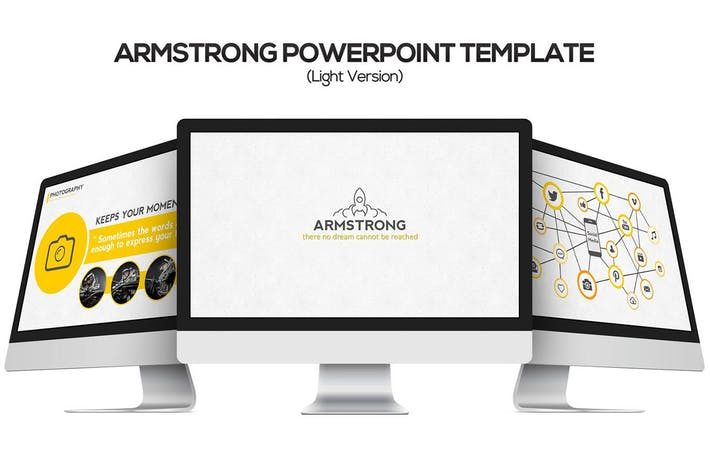 Thumbnail for Armstrong Keynote Template