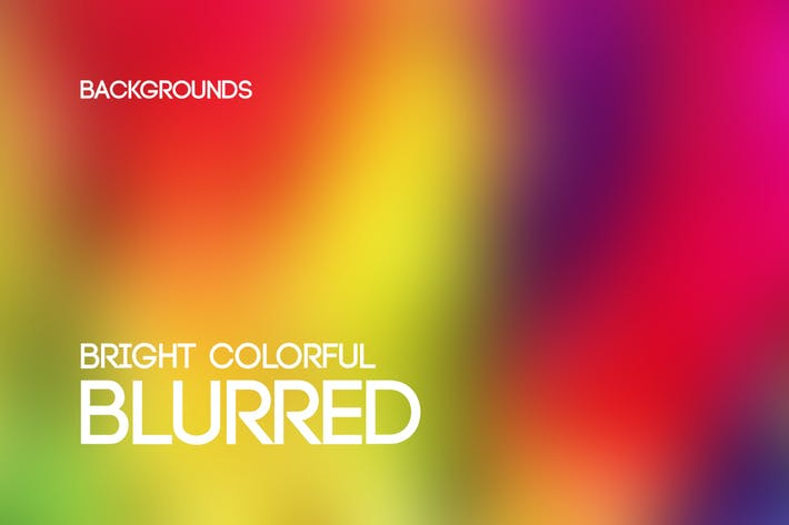 Thumbnail for Bright Colorful Blurred Backgrounds