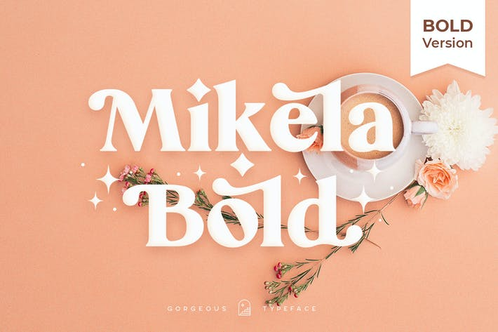 Thumbnail for Mikela Bold - Gorgeous Typefaces