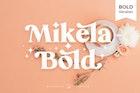 Mikela Bold - Gorgeous Typefaces