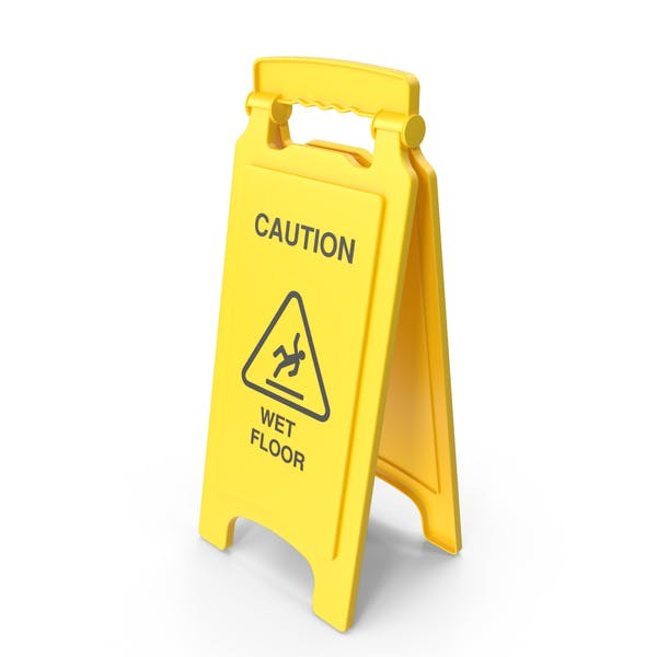 Wet Floor Sicherheitsschild