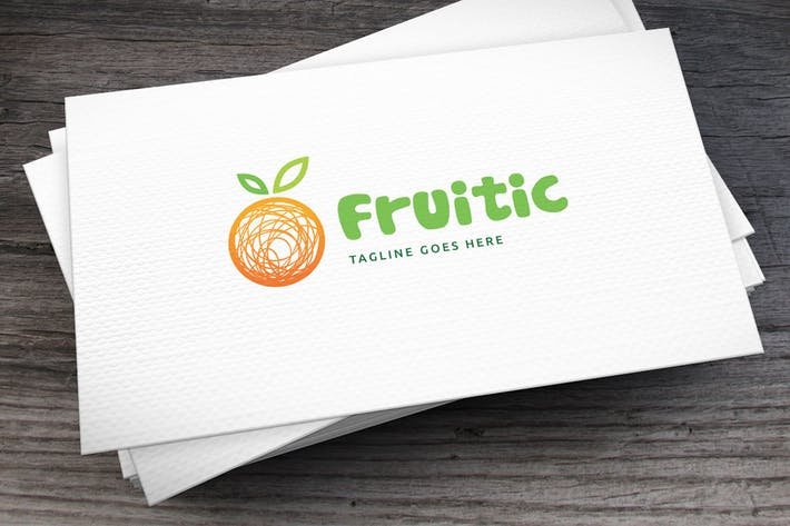 Thumbnail for Fruitic Logo Template