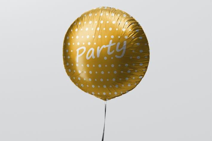 Thumbnail for Round Balloon Mockup