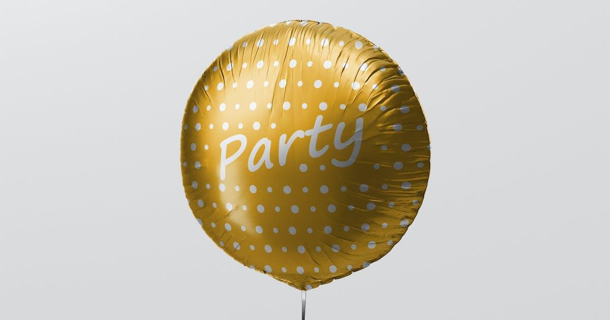 Download Round Balloon Mockup by visconbiz