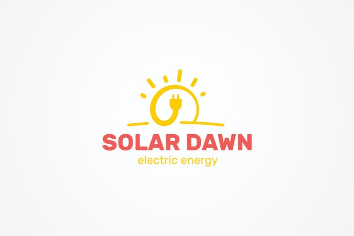 Thumbnail for Solar Energy Logo Template