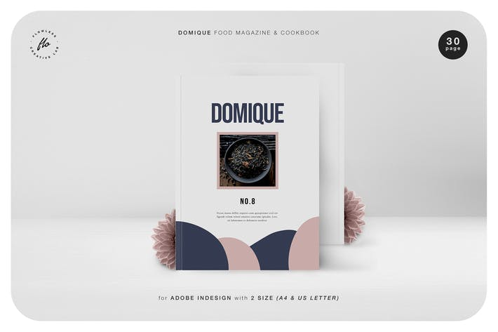 Thumbnail for Domique Food Magazine & Cookbook