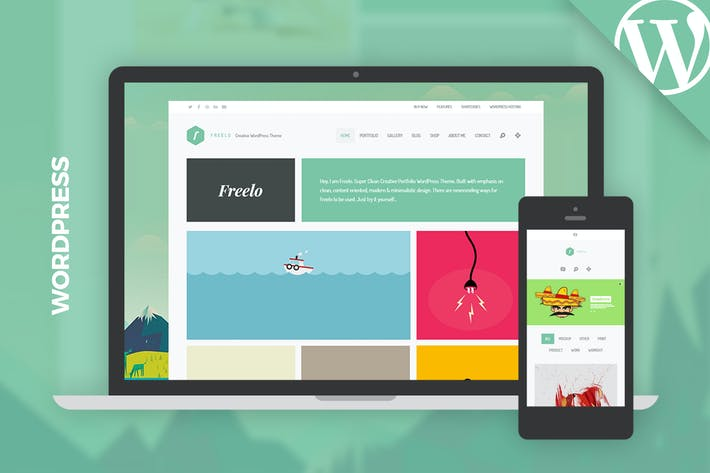 Thumbnail for Freelo WP - Creative WordPress Portfolio Theme