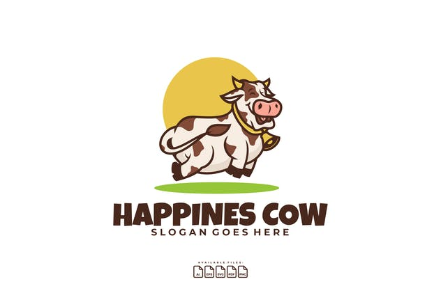 HAPPINESS COW LOGO