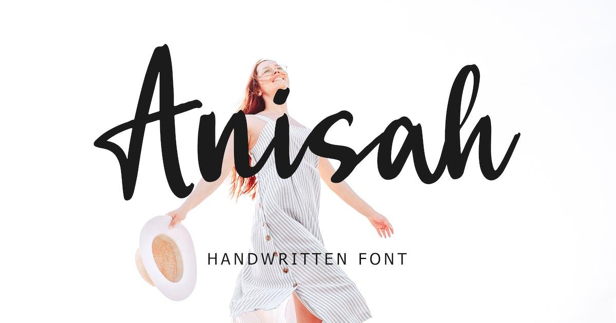 Download Anisah Handwritten Font by Formatika