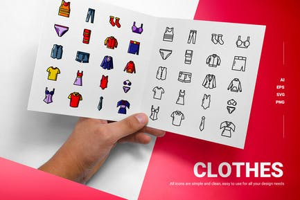 Clothes - Icons