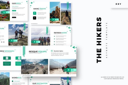 The Hikers - Keynote Template
