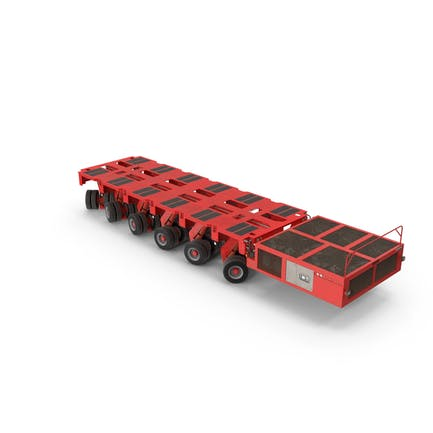 6 Axle Lines Modular Transporter Goldhofer