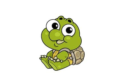 Baby Schildkröte - Charakter RG