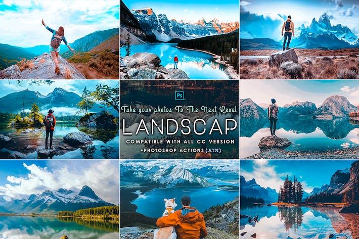 Thumbnail for Landscap Photoshop Actions