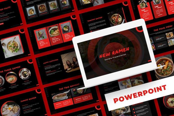 Thumbnail for New Ramen - Powerpoint Template