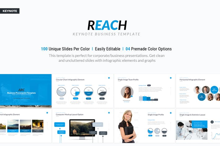 Thumbnail for Keynote Business Template