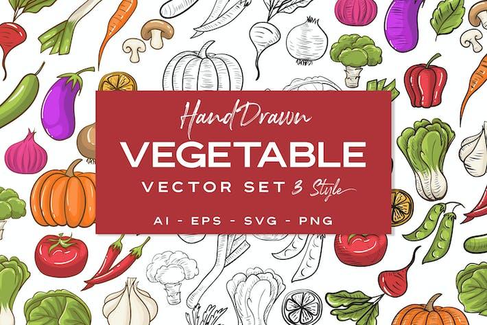 Thumbnail for Gemüse handgezeichnet