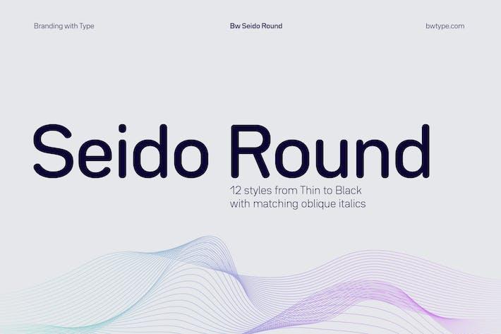 Thumbnail for Bw Seido Round font family