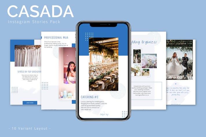 Thumbnail for Casada - Instagram Story Pack