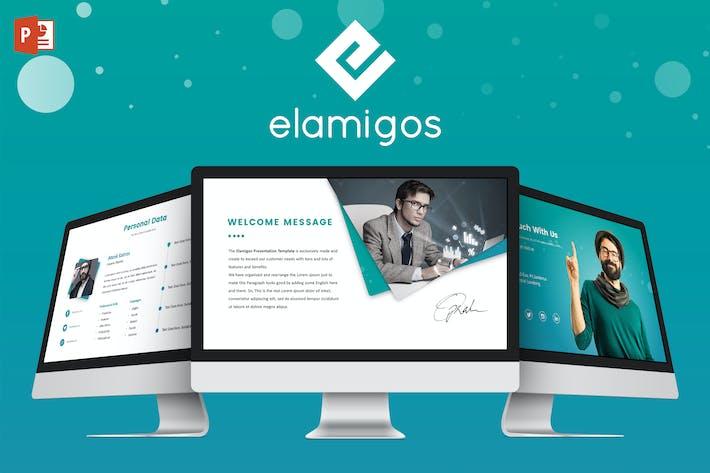 Thumbnail for Elamigos Powerpoint Template