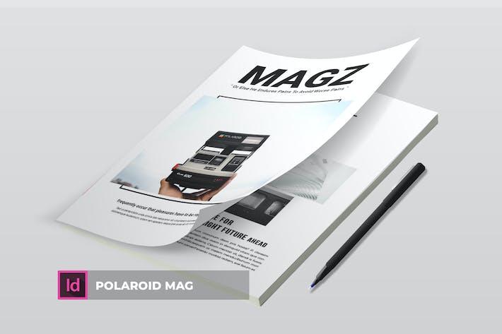 Thumbnail for Polaroid Mag | Magazine Template