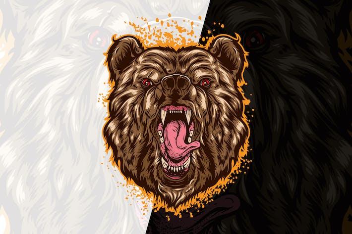 Thumbnail for Beast Bear Head