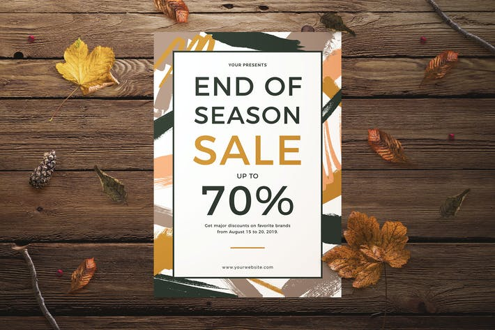Thumbnail for End of Season Sale Flyer