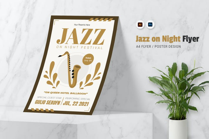 Thumbnail for Jazz On Night Flyer