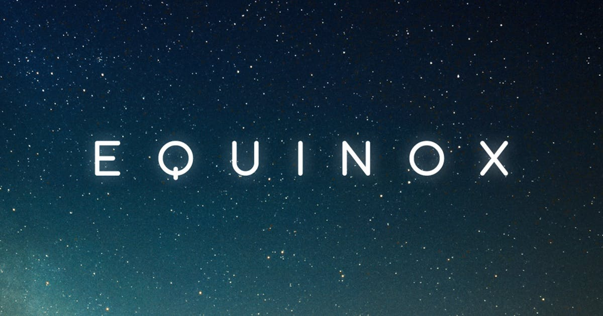 Download Equinox Typeface by MehmetRehaTugcu