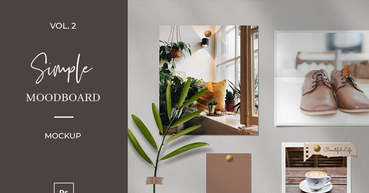 Download Simple Mood Board Mock Up Vol.2 by sagesmask