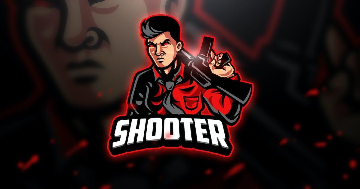 Download Shooter - Mascot & Esport Logo by aqrstudio