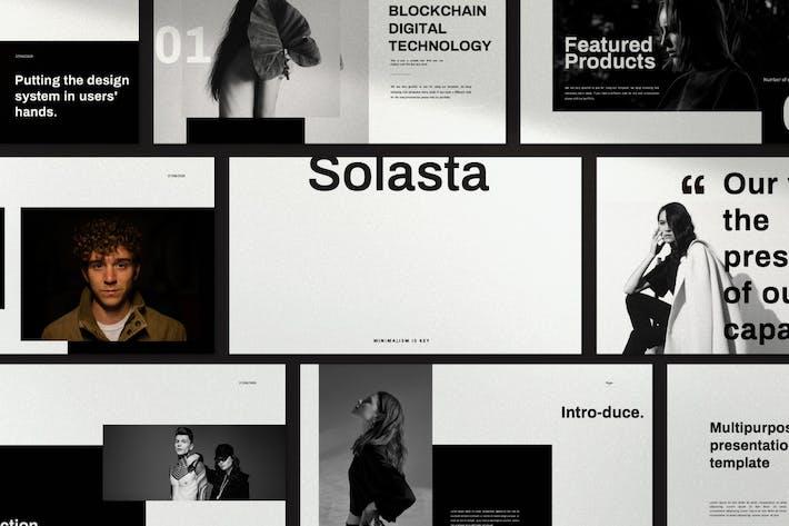 Thumbnail for Solasta - Minimal Creative Google Slides