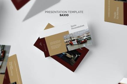 Saxio : Car Dealer Google Slides