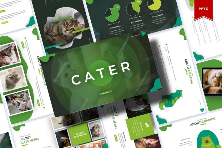 Cater | Powerpoint Template