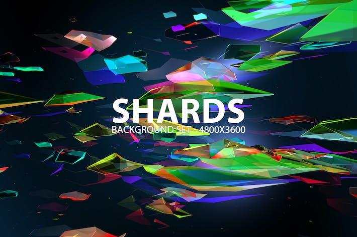 Shards Hintergrund-Set