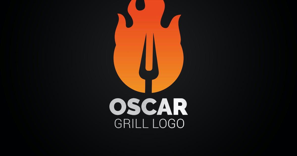 Download Letter K Fire Grill Logo by SmartDesigns_eu