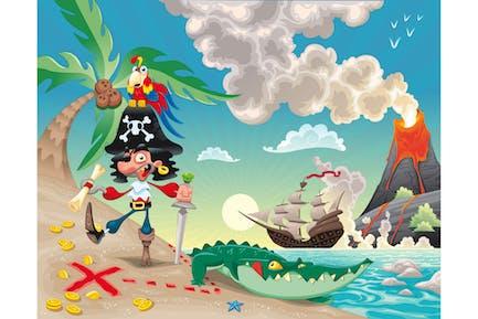 Pirata en la Isla