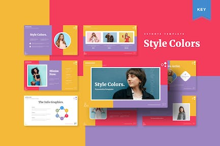 Style Colors   Keynote Template