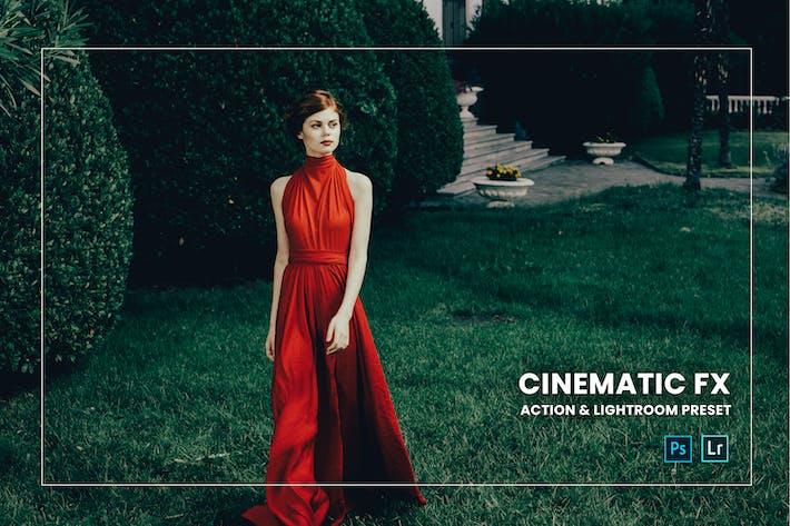 Cinematic Fx Action & Lightroom Preset