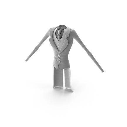 Toon Character - Traje blanco