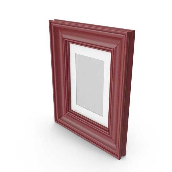 Thumbnail for Classic Wooden Picture Frame Dark Red