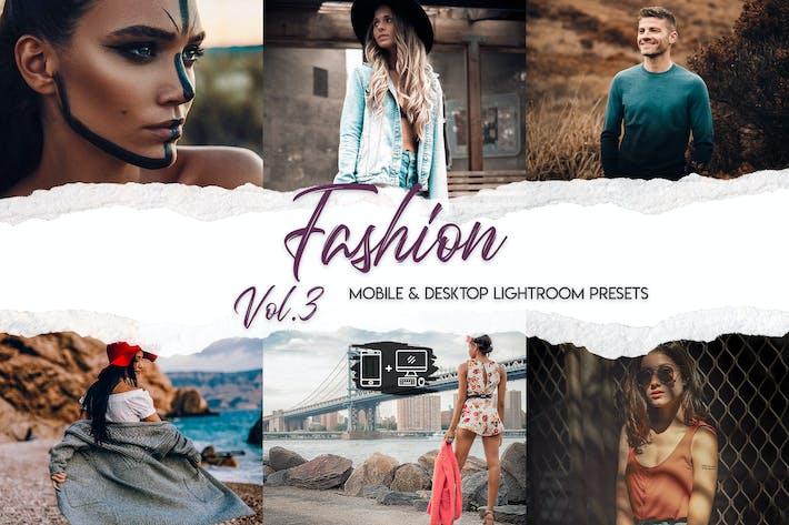 Fashion Lightroom Presets Vol. 3