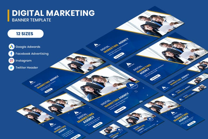 Thumbnail for Digital Marketing Agency Google Adwords Banner