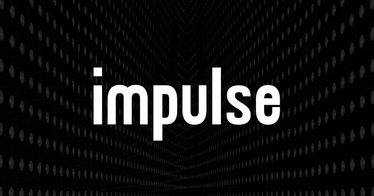 Download IMPULSE - Display / Headline / Logo Typeface by designova