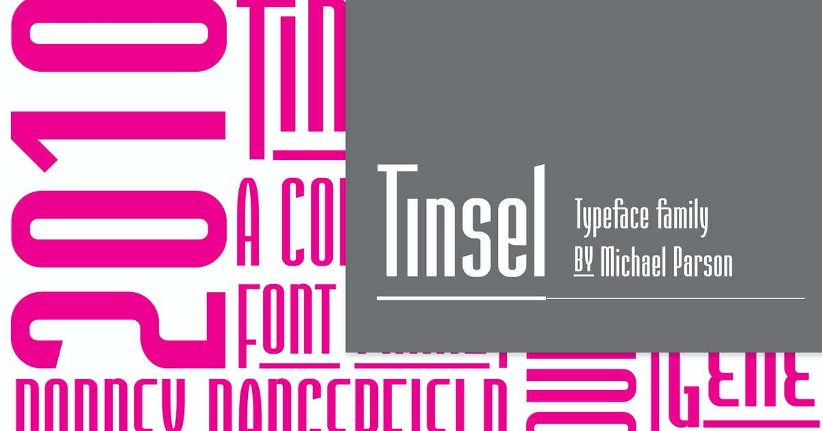 Download Tinsel by Typogama