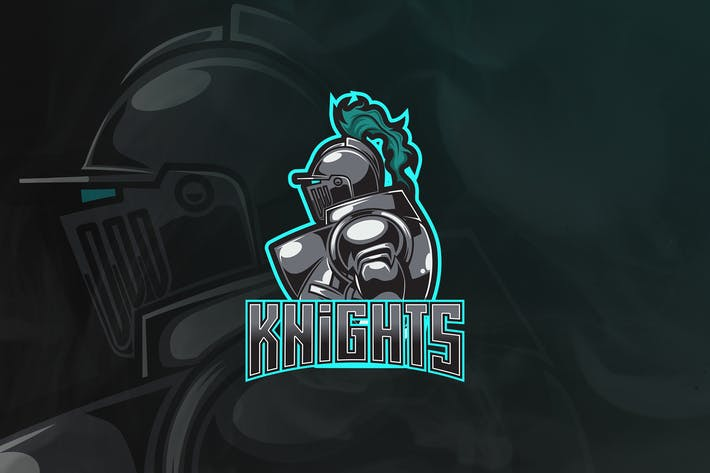 Thumbnail for Knight - Mascot & Esport Logo