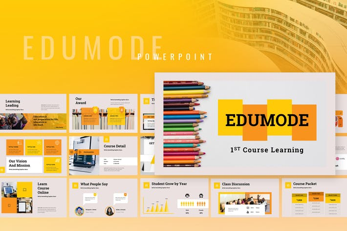 Thumbnail for Edumode - Education Powerpoint Presentation
