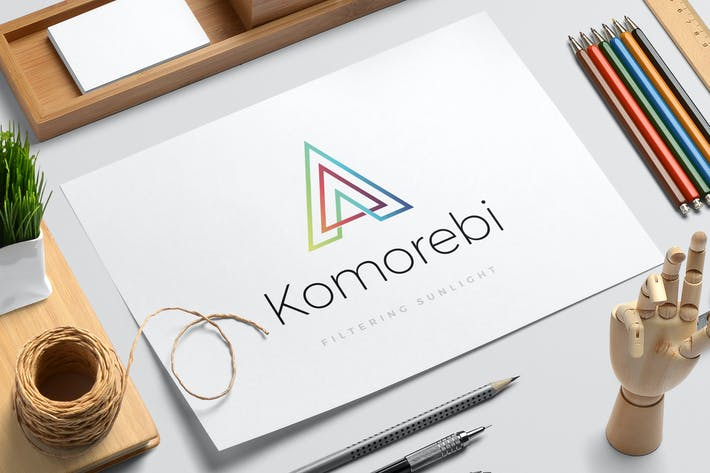 Thumbnail for Komorebi logo template