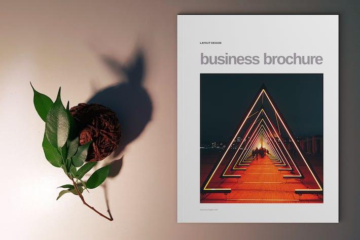Thumbnail for Orange Brochure Template
